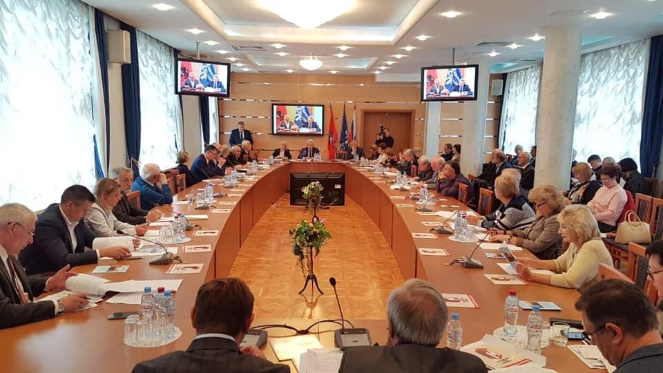 В УИЦ МФП состоялось заседание Президиума Московской Федерации профсоюзов